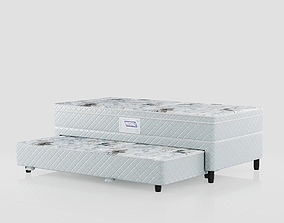 Double Bed Box Star 3D