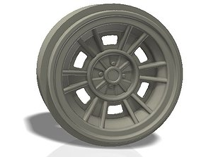 6 double spokes rim - llanta automotive 3D print model