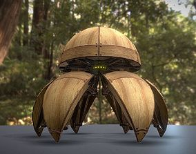 Hydraulic Sphere Bot - Forest Version 3D model