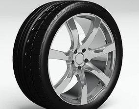 3D model Tire Bridgestone Potenza 760 Sport Plus