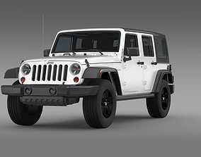 3D model Jeep Wrangler Call of Duty Black Ops