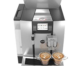 JURA USA Automatic Coffee Machine GIGA W3 3D