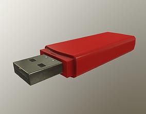 3D model realtime PBR USB Flash Drive