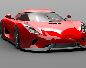 Hyper Electric Car 3D model