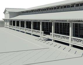 3D model Japanese pavilion historic