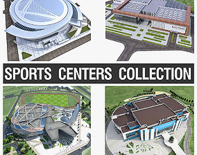 Sports Centers Collection 3D model