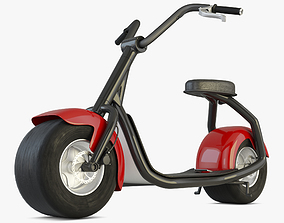 3D model Electric Scooter City