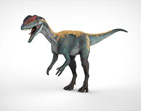 3D model Dilo Dinosaurs