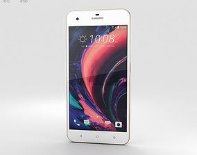 HTC Desire 10 Pro Polar White 3D mobile