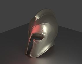 3D printable model ancient greek helmet