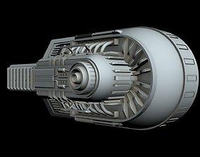 Starship Detail 3 3D