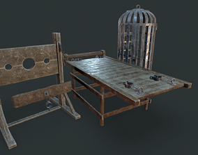 Torture dungeon set 3D model