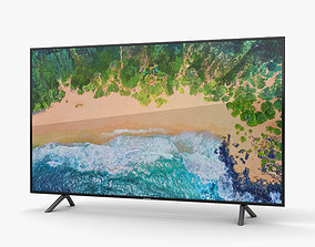 3D model Samsung 65 NU7100 Smart 4K TV