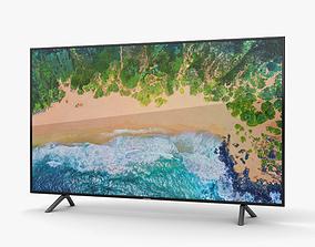 3D model Samsung 65 NU7100 Smart 4K TV