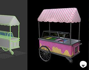 3D asset Ice cream Machine - Gest
