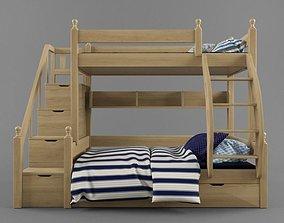 Children - bunk bed 3D model
