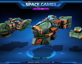 3D asset RTS - Space Games Vol - 04