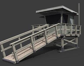 3D asset Lifeguard Tower