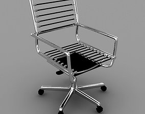 Chair 3D asset game-ready saral