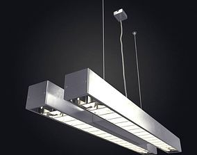 3D Hanging Tube Light