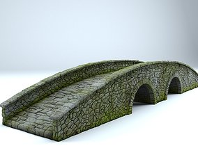 Old Stone Brigde 3D model