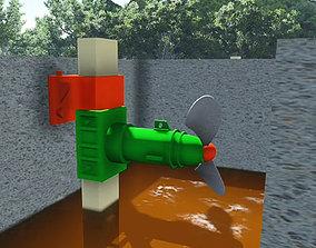 Blender animation 3D model
