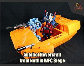 3D print model Autobot Hovercraft from Netflix WFC Siege