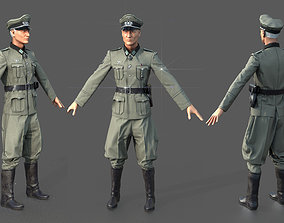 Wehrmacht officer 3D model