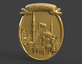 3D print model Eyup Sultan Mosque
