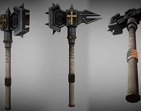 Metal Warhammer 03 3D model