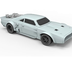 Diecast model Ice Charger from the movie Fast 8 Scale 1 2
