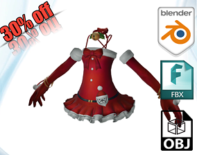 3D model realtime clothe Costume Clothe and Dress