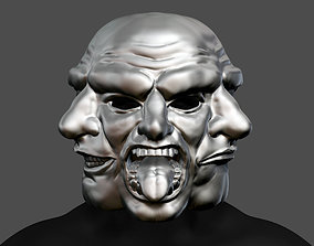 Payday 2 Horror Mask Greek Tragedy 3D printable model 3