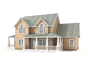 Cottage 42 3D model