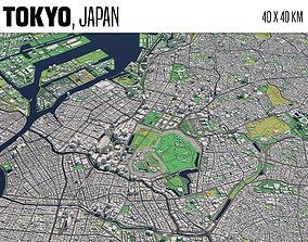 3D model Tokyo