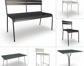 Luxembourg Metallic Outdoor Furniture Fermob 3D model