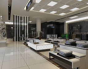 3D Mens Clothing Store 01