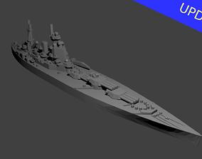 British Nelson Class Battleship 3D printable model
