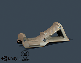 Angled Forp Grip 3D asset