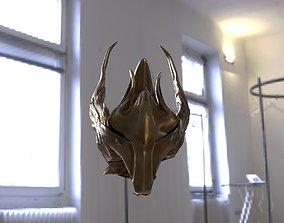 3D model Medieval Visor helmet