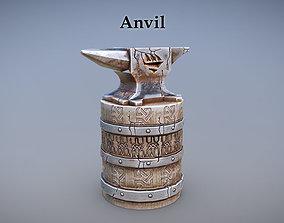 3D model realtime unity Anvil