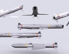 3D model AGM-84H SLAM-ER agm-84h