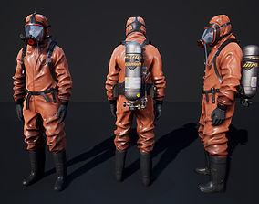 3D model Hazmat Suit