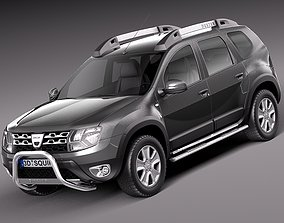 3D model Dacia Duster 2014 Offroad