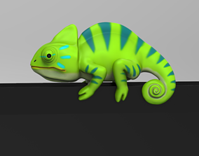 3D print model Chameleon for Monitor Climb STL