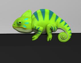 3D printable model Chameleon for Monitor Climb STL
