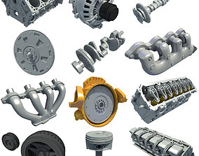 12 Engine Part Models