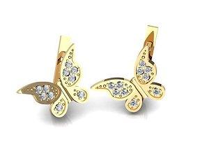 3D printable model Earrings BS106
