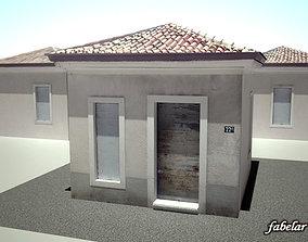 Suburban house 1 3D