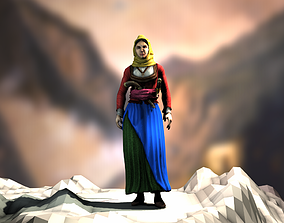 Laskarina Bouboulina 3D asset